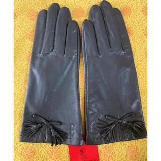 ロベルタディカメリーノ(ROBERTA DI CAMERINO)のロベルタ 羊皮革手袋 Sサイズ(手袋)