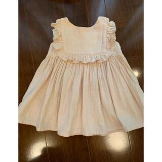 Caramel baby&child  - june little closet ハンドメイド ワンピース スクエアフリル