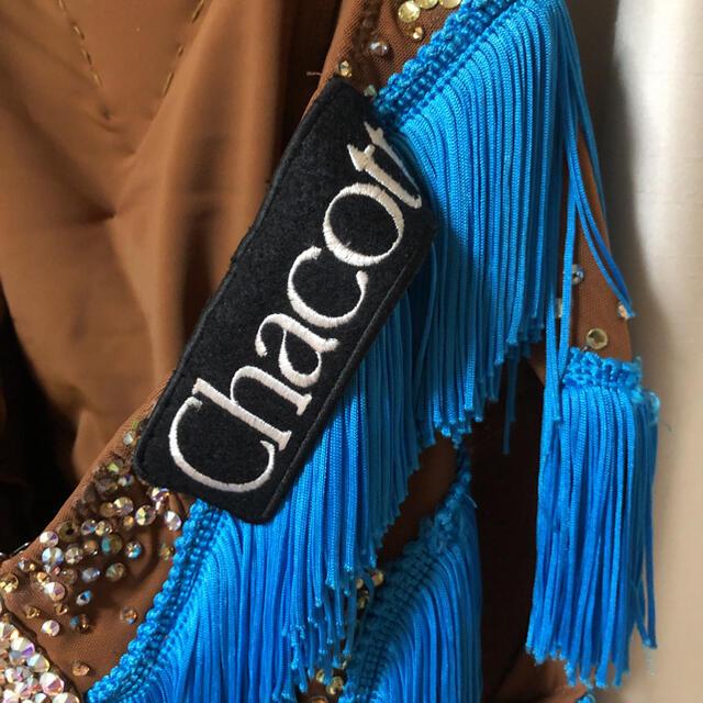 CHACOTT(チャコット)の社交ダンス チャコットラテンドレス スポーツ/アウトドアのスポーツ/アウトドア その他(ダンス/バレエ)の商品写真