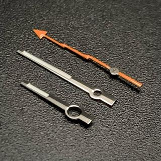 セイコー(SEIKO)のセイコー SEIKO 針 セット 社外 カスタム オレンジ MOD ミルガウス (腕時計(アナログ))