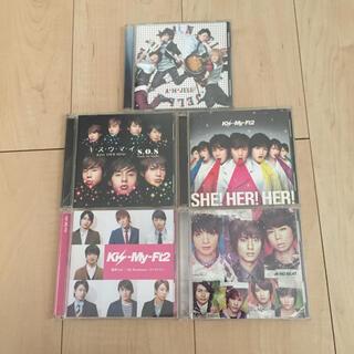 キスマイフットツー(Kis-My-Ft2)のKis-My-Ft2 CD.アルバム 5枚セット(ポップス/ロック(邦楽))