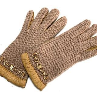 セリーヌ(celine)のCELINE(セリーヌ) 手袋 6 1/2 レディース(手袋)