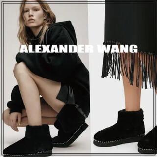 アレキサンダーワン(Alexander Wang)の【美品】アレキサンダーワン♡ムートンブーツ(ブーツ)