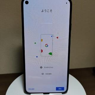 グーグルピクセル(Google Pixel)のPixel5 128G 緑 グリーン ソータセージ本体(スマートフォン本体)