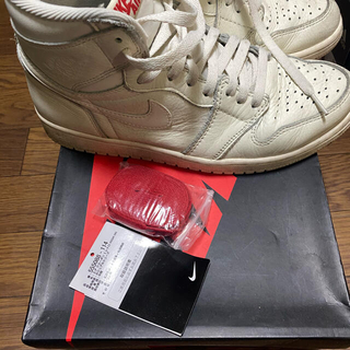 ナイキ(NIKE)のNike air jordan 1 Retro High OG sail (スニーカー)