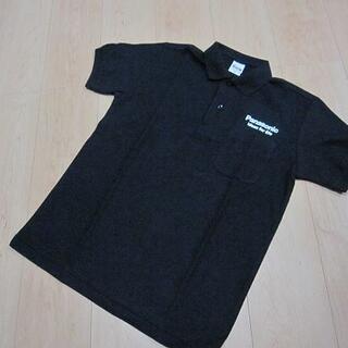 パナソニック(Panasonic)の新品非売品 Panasonic パナソニック ポロシャツ S 黒 街の電気屋さん(ノベルティグッズ)