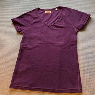 ハリウッドランチマーケット(HOLLYWOOD RANCH MARKET)のHOLLYWOOD RANCH MARKET  Vネック Tシャツ(Tシャツ/カットソー(半袖/袖なし))