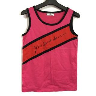 サンローラン(Saint Laurent)のイヴサンローラン ノースリーブTシャツ M -(Tシャツ(半袖/袖なし))