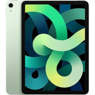 アップル(Apple)の【新品未使用】iPad Air 4 64GB Wi-Fi グリーン(タブレット)