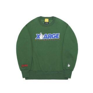 エクストララージ(XLARGE)のFR2 XLARGE スウェット グリーン 緑 Lサイズ!(スウェット)