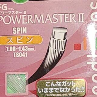 ゴーセン(GOSEN)のGOSEN POWERMASTER 2 スピン(ラケット)