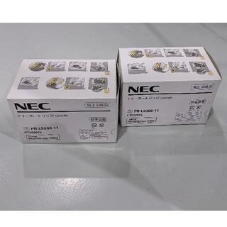 エヌイーシー(NEC)のPR-L5300-11 NEC純正カートリッジ2個(OA機器)