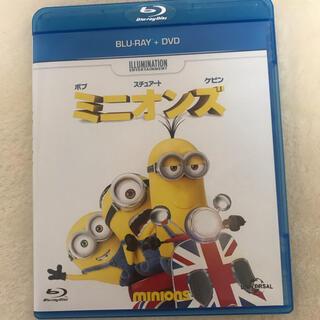 ミニオン(ミニオン)のミニオンズ Blu-ray+DVDセット(キッズ/ファミリー)