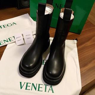 ボッテガヴェネタ(Bottega Veneta)の新品正規品 BOTTEGA VENETA BV ラグブーツ newbottega(ブーツ)