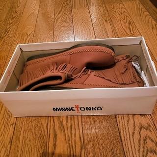 ミネトンカ(Minnetonka)のミネトンカフリンジブーツ(ローファー/革靴)