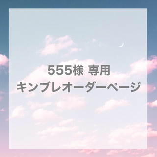 555様 専用 キンブレシートオーダーページ(オーダーメイド)