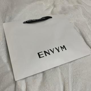 アンビー(ENVYM)のENVYM GYDA ショップ袋(ショップ袋)