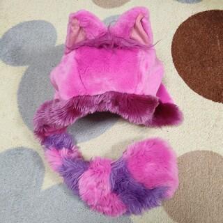ディズニー(Disney)のチシャ猫 ファンキャップ 被り物 帽子(キャラクターグッズ)