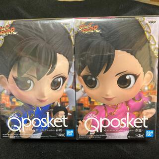 キューポット(Q-pot.)のQposket 春麗 チュンリー ストリートファイター フィギュア セット(キャラクターグッズ)