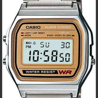 カシオ(CASIO)のカシオ A158WEA-9JF スクエアフェイス(腕時計(デジタル))