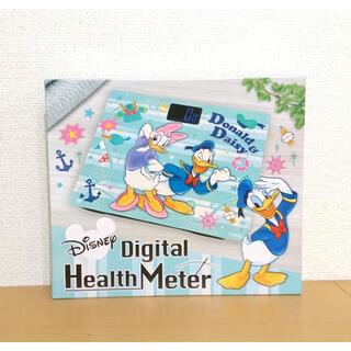 ディズニー(Disney)の新品▼ディズニー デジタルヘルスメーター 体重計 美ボディ ダイエット(体重計/体脂肪計)
