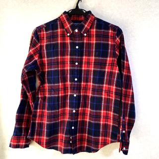 ジムフレックス(GYMPHLEX)の起毛チェックシャツ ネルシャツ(シャツ/ブラウス(長袖/七分))