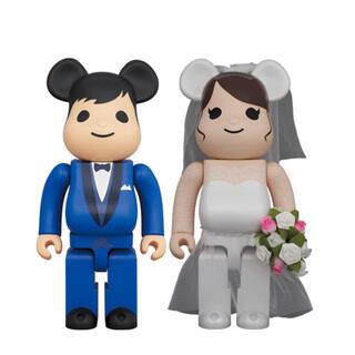 メディコムトイ(MEDICOM TOY)のBE@RBRICK グリーティング結婚 4 PLUS 100%&400%(フィギュア)