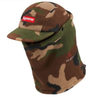 シュプリーム(Supreme)の★Supreme★ Facemask Polartec Camp Cap 迷彩(キャップ)