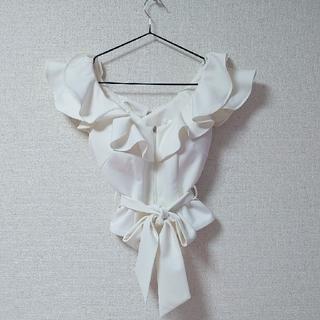 an - ◆an♡ツーピースホワイトミニドレス◆