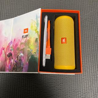 フリップ(Flip)のJBL FLIP3 黄色 Bluetoothスピーカー(スピーカー)