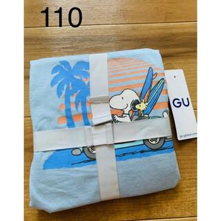 ジーユー(GU)の新品 GU  スヌーピー 半袖パジャマ 110cm(パジャマ)