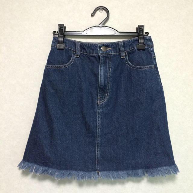 LOWRYS FARM(ローリーズファーム)の台形スカート レディースのスカート(ミニスカート)の商品写真