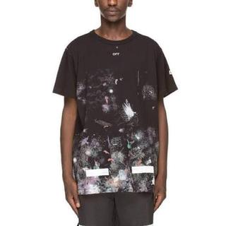 オフホワイト(OFF-WHITE)のOFF-WHITE Galaxy Brushed Tee(Tシャツ/カットソー(半袖/袖なし))