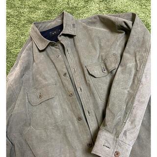 レディメイド(LADY MADE)のYT over size shirt テント生地ヴィンテージreadymade(シャツ)