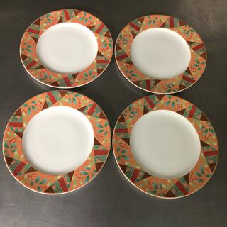ミカサ(MIKASA)の【陶磁器】MIKASA 4枚セット 直径 27㌢(食器)