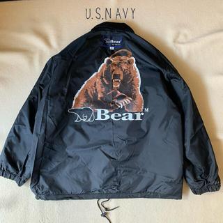 ベアー(Bear USA)の80s-90s Bear USA ナイロン コーチジャケット Korea製(ナイロンジャケット)