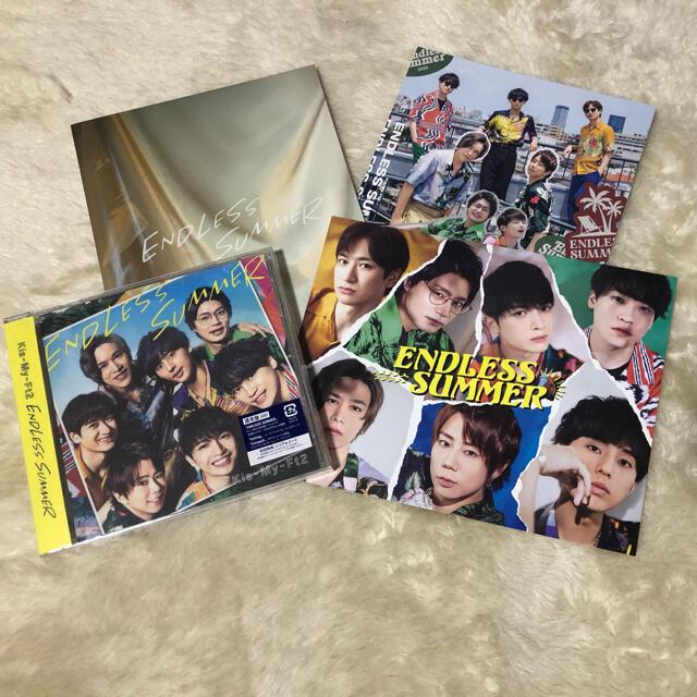 Kis-My-Ft2(キスマイフットツー)のKis-My-Ft2 ENDLESS SUMMER エンタメ/ホビーのCD(ポップス/ロック(邦楽))の商品写真