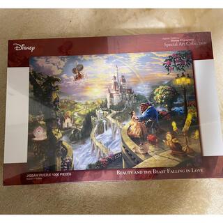 ディズニー(Disney)の(新品未開封)美女と野獣 1000ピース ジグソーパズル 定価3800円(キャラクターグッズ)