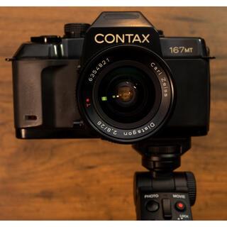 キョウセラ(京セラ)の【お赤飯様用】Contax 167MT Zeiss 28m distagon  (フィルムカメラ)