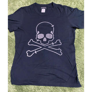 マスターマインドジャパン(mastermind JAPAN)のmastermind japan  グラスビーズ Tシャツ ドクロ スカル L(Tシャツ/カットソー(半袖/袖なし))