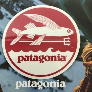 パタゴニア(patagonia)の(直径7.7cm)  patagonia 公式ステッカー(その他)