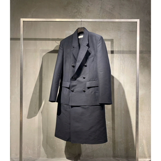 ラフシモンズ(RAF SIMONS)の今期20aw namacheko hanagan coat ナマチェコ コート(チェスターコート)