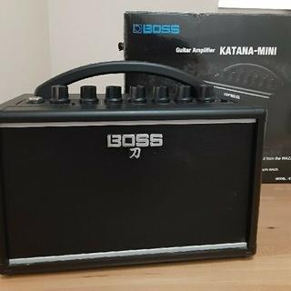 ボス(BOSS)のBOSS KATANA-MINI +PSB-100(ギターアンプ)