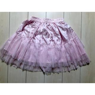 ボディライン(BODYLINE)のBODY LINE ボディーライン ピンクパニエ(ひざ丈スカート)