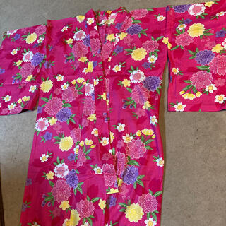 女児150 サイズ 浴衣(甚平/浴衣)