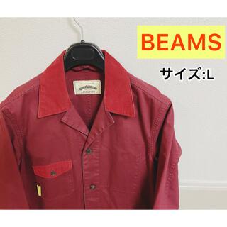 ビームス(BEAMS)の【美品】World workers コーデュロイ ステンカラーコート(チェスターコート)