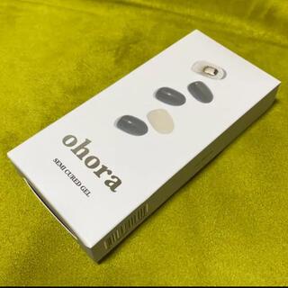【N Monotone】ohora オホーラ ネイル ジェルネイル 16枚+6枚
