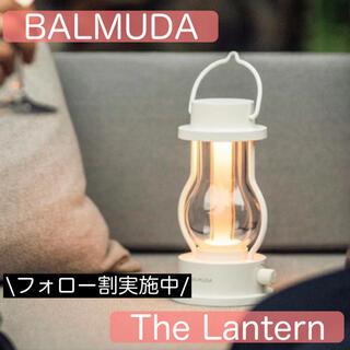 バルミューダ(BALMUDA)の新品未開封 バルミューダ LEDランタン L02A-WH(ホワイト) キャンプ(ライト/ランタン)