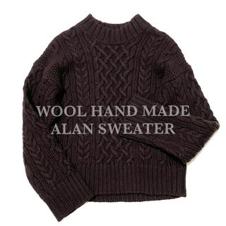 スティーブンアラン(steven alan)のSteven Alan WOOL HAND MADE ALAN SWEATER(ニット/セーター)