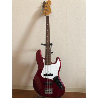 フェンダー(Fender)のFenderジャズベース 日本製 ソフトケース付き(アコースティックベース)